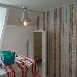 Een slaapkamer zo als die was